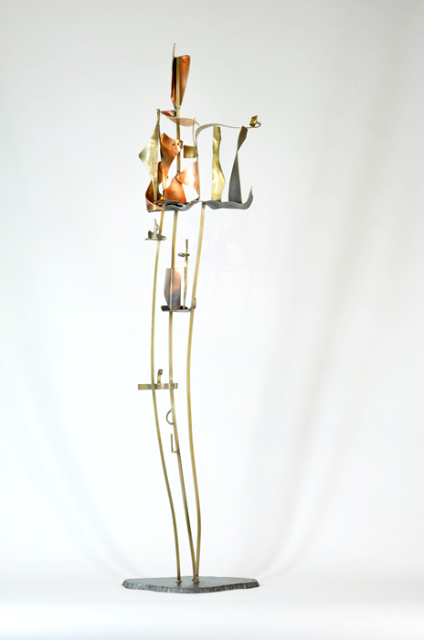 10_Arch.dance series#10_2014_Bronze,copper,brass,steel_H1009xW23xD21cm_$750.jpg