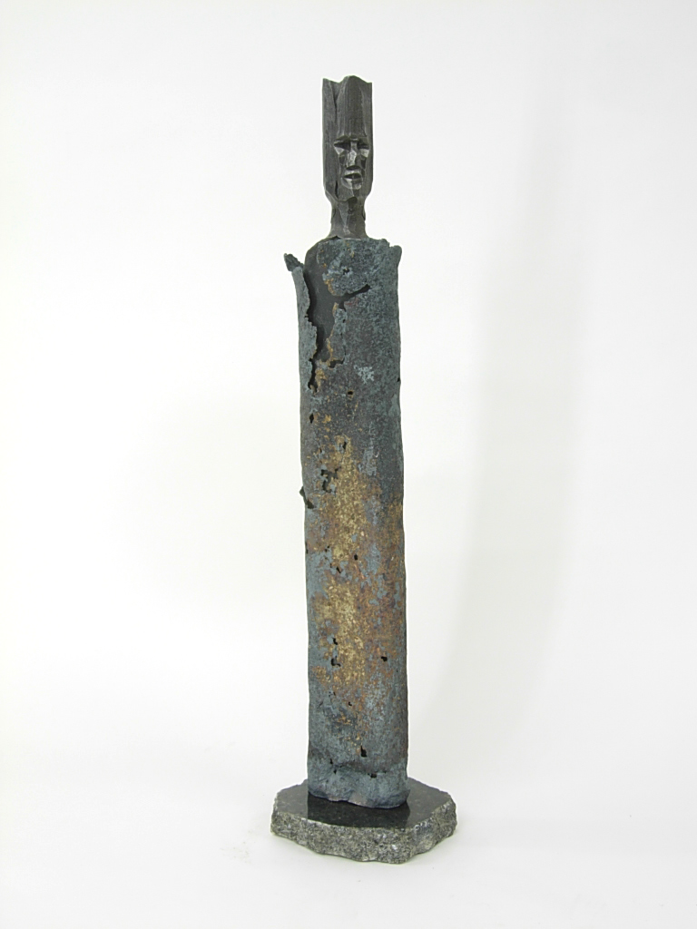 #20 Standing figure. Forged steel.H66,W14,D16