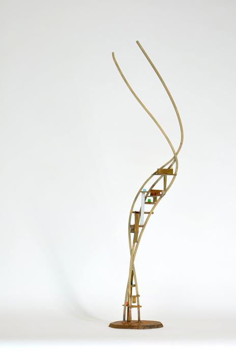 07_Arch.dance series#7_2014_Bronze,glass,steel_H89xW20xD14_$750.jpg