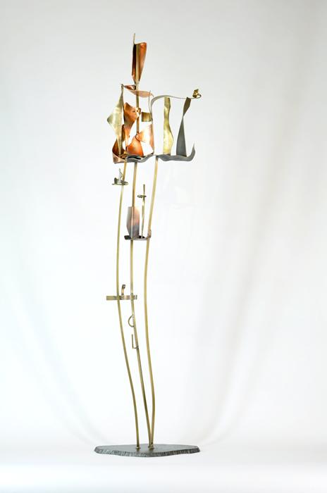 10_Arch.dance series#10_2014_Bronze,copper,brass,steel_H1009xW23xD21cm_$750.jpg